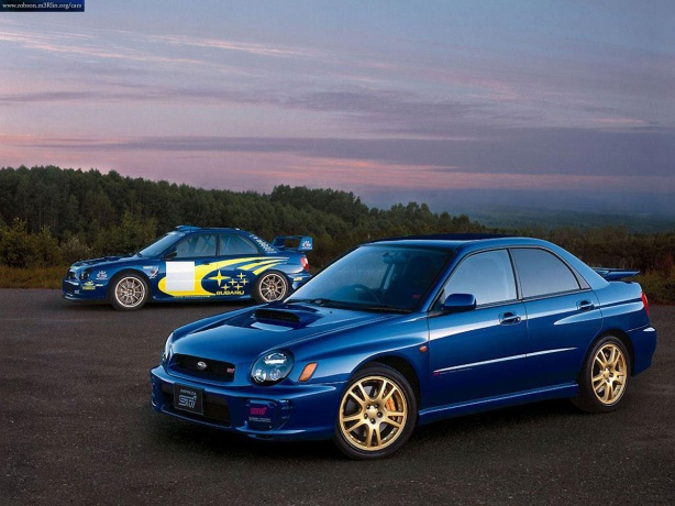 2002 Subaru WRX Bugeyed